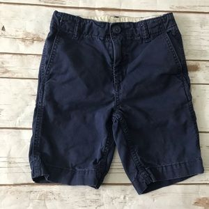 GAP Kids Navy blue Chino Shorts Size 6